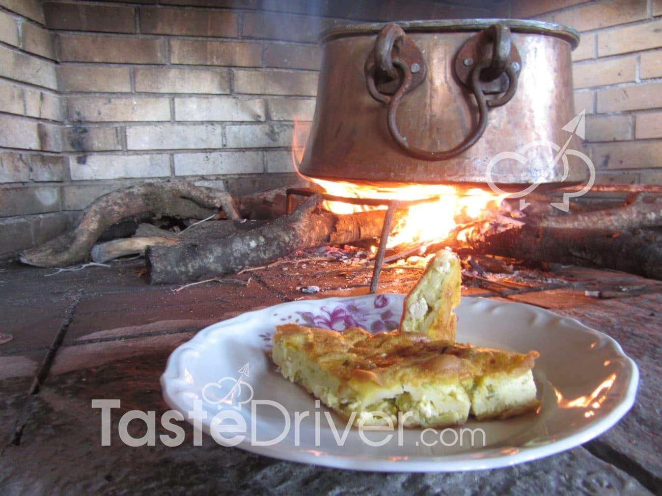 Παραδοσιακή γαλακτοχλωρόπιτα των Ακαρνανικών Ορέων