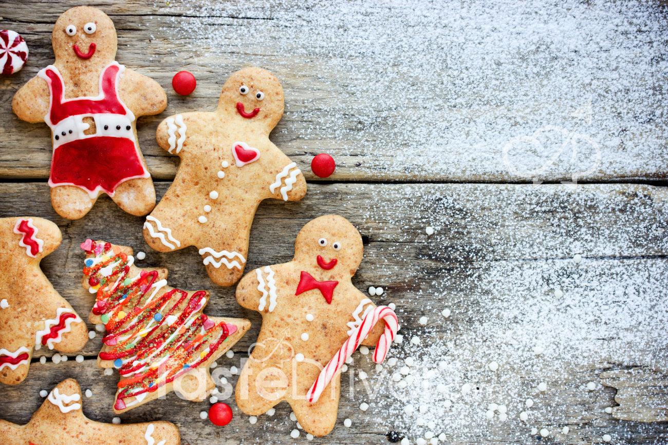 Christmas cookies… Gingerbread cookies