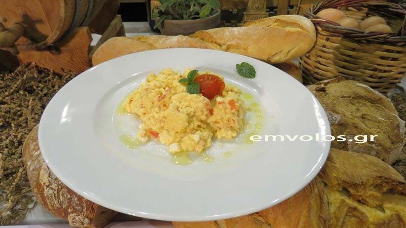 Αυγά σκραμπλ