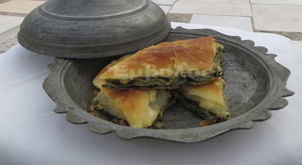 Επτάφυλλη πίτα με σπανάκι από την Έλσα Ιωσηφίδου