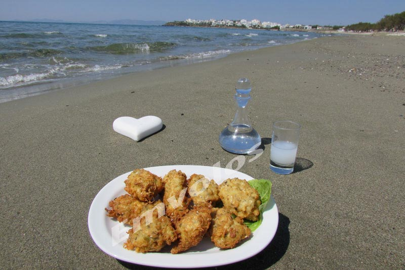 Cod croquettes with beer and flour mush