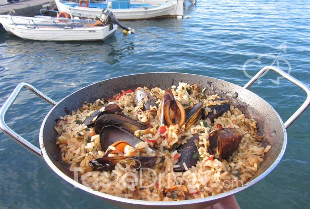 Mussel Pilaf from Chania
