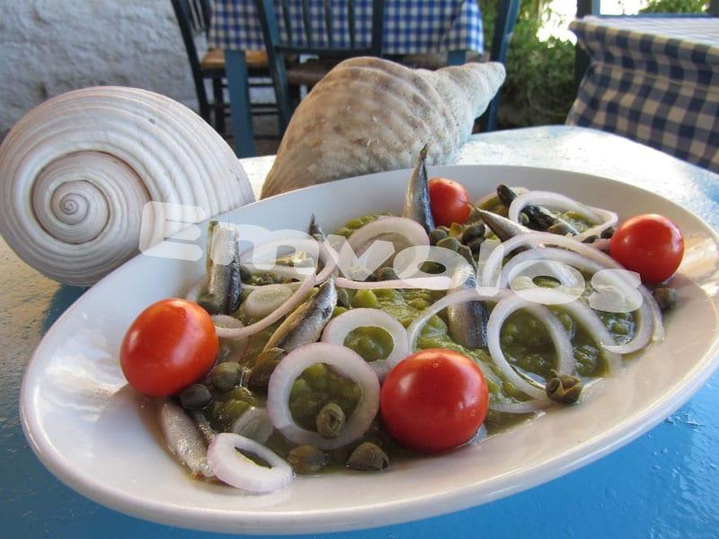Παραλλαγή Φάβας με αρακά