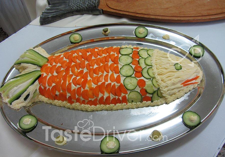Διπλή συνταγή Ψάρι Αθηναϊκή και σπιτική μαγιονέζα
