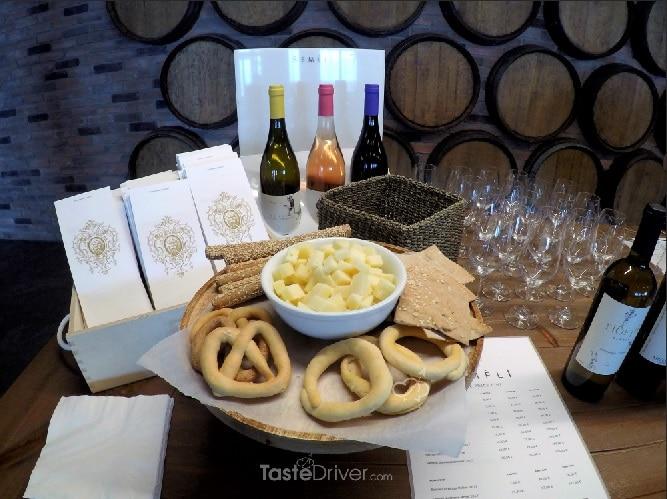 semeli, wine, food