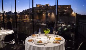 ακρόπολη, μουσείο, βράδυ, δείπνο