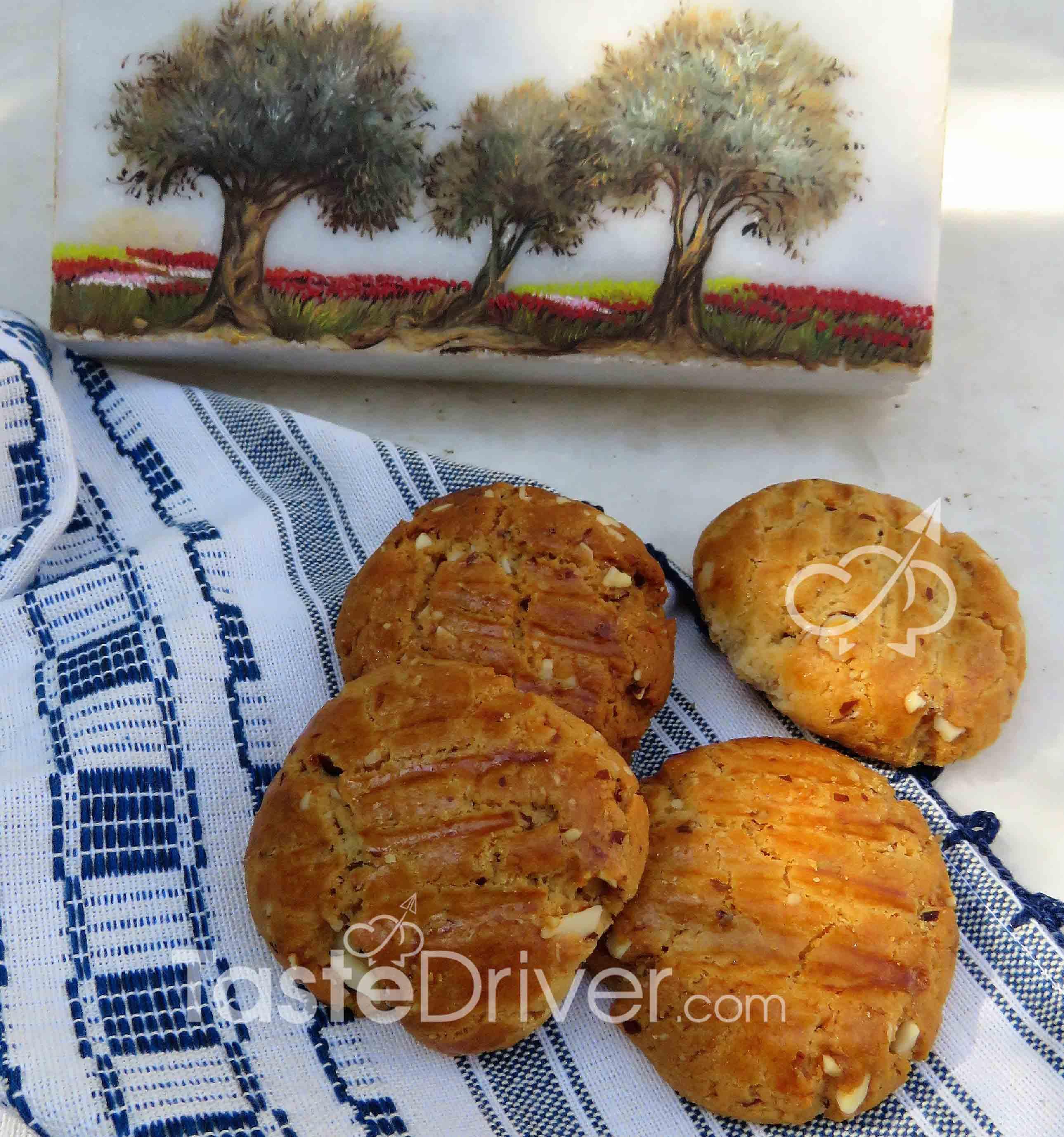 μπισκότα, αμυγδάλου, στέβια, γλυκαντικό