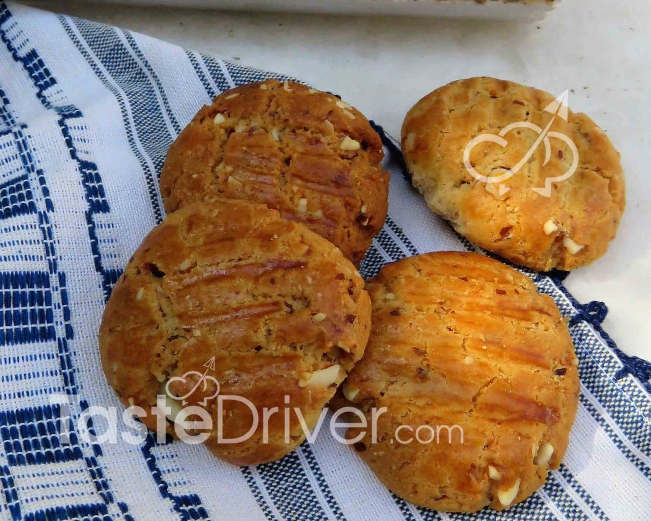 Almond biscuits with stevia