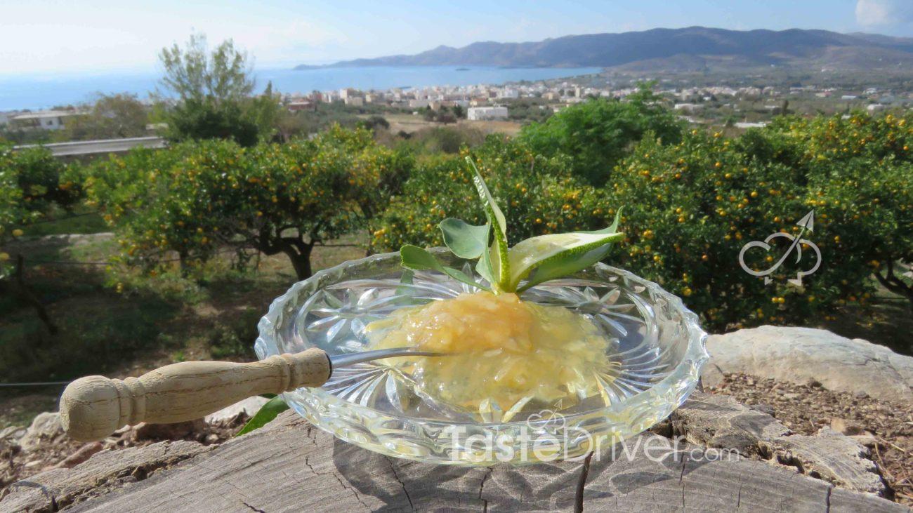 Confiture de citron lissée