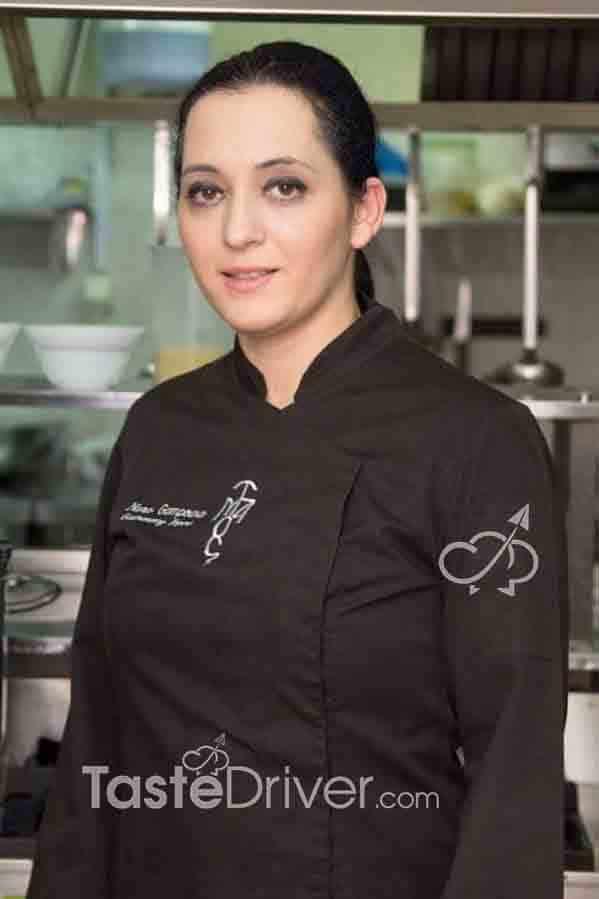 Νανά Γκαμπούρα, executive chef