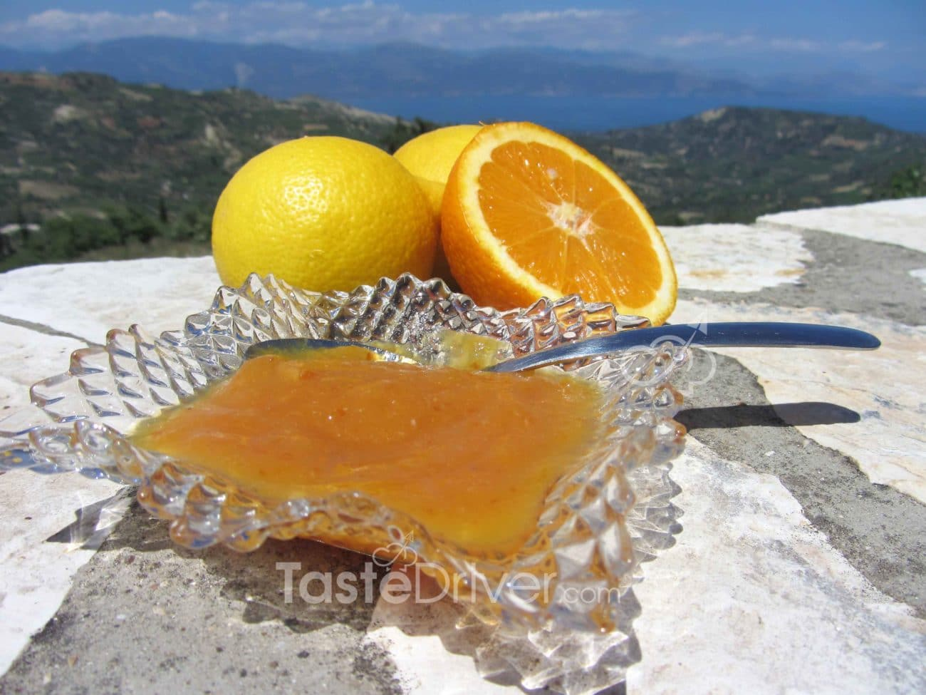 Orange marmalade of Nafplio