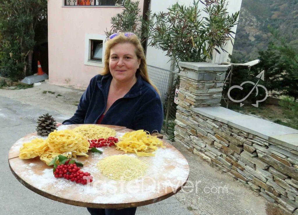 pasta of Evia