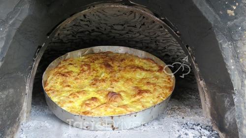 Aυγοτυρόπιτα στο φούρνο