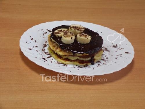 Pancake με σοκολάτα