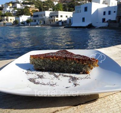 κέικ με παπαρουνόσπορο
