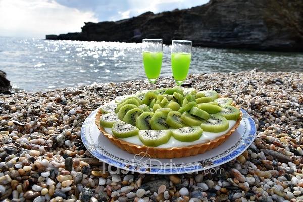 La tarte au kiwi de l'Annula