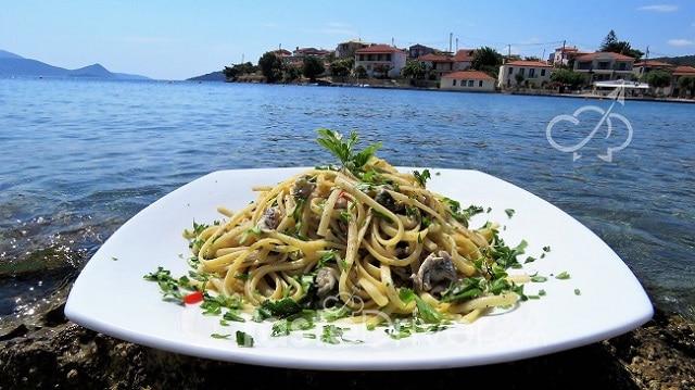 Fish Spaghetti from the island