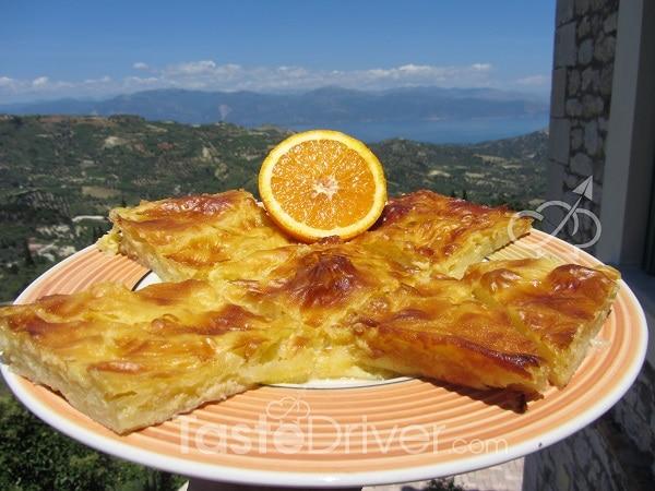 Sonia's orange pie