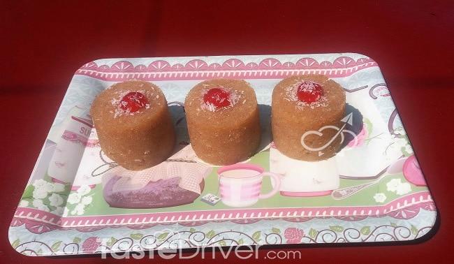 Χαλβάς με ινδοκάρυδο και κεράσι Γευστική δημιουργία της γιορτής