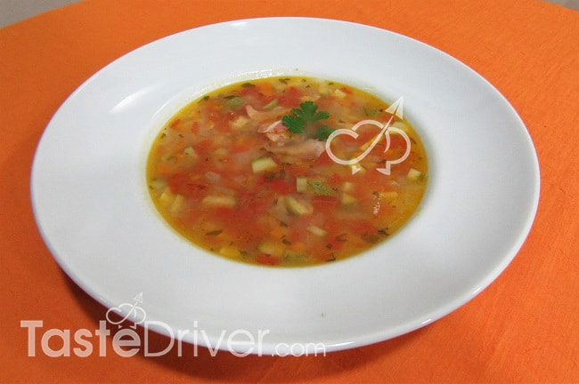 Σούπα λαχανικών της Μαρίνας