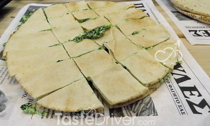 Σπανακόπιτα με αραβικές πίτες