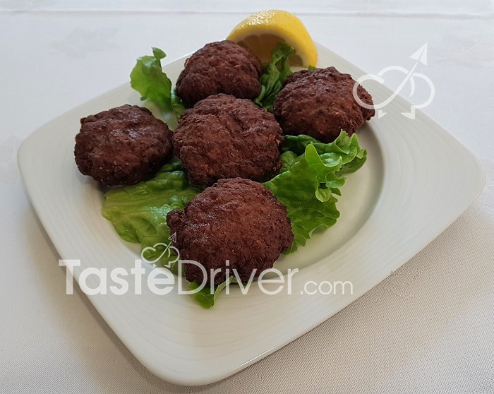 Aromatic meatballs in the oven