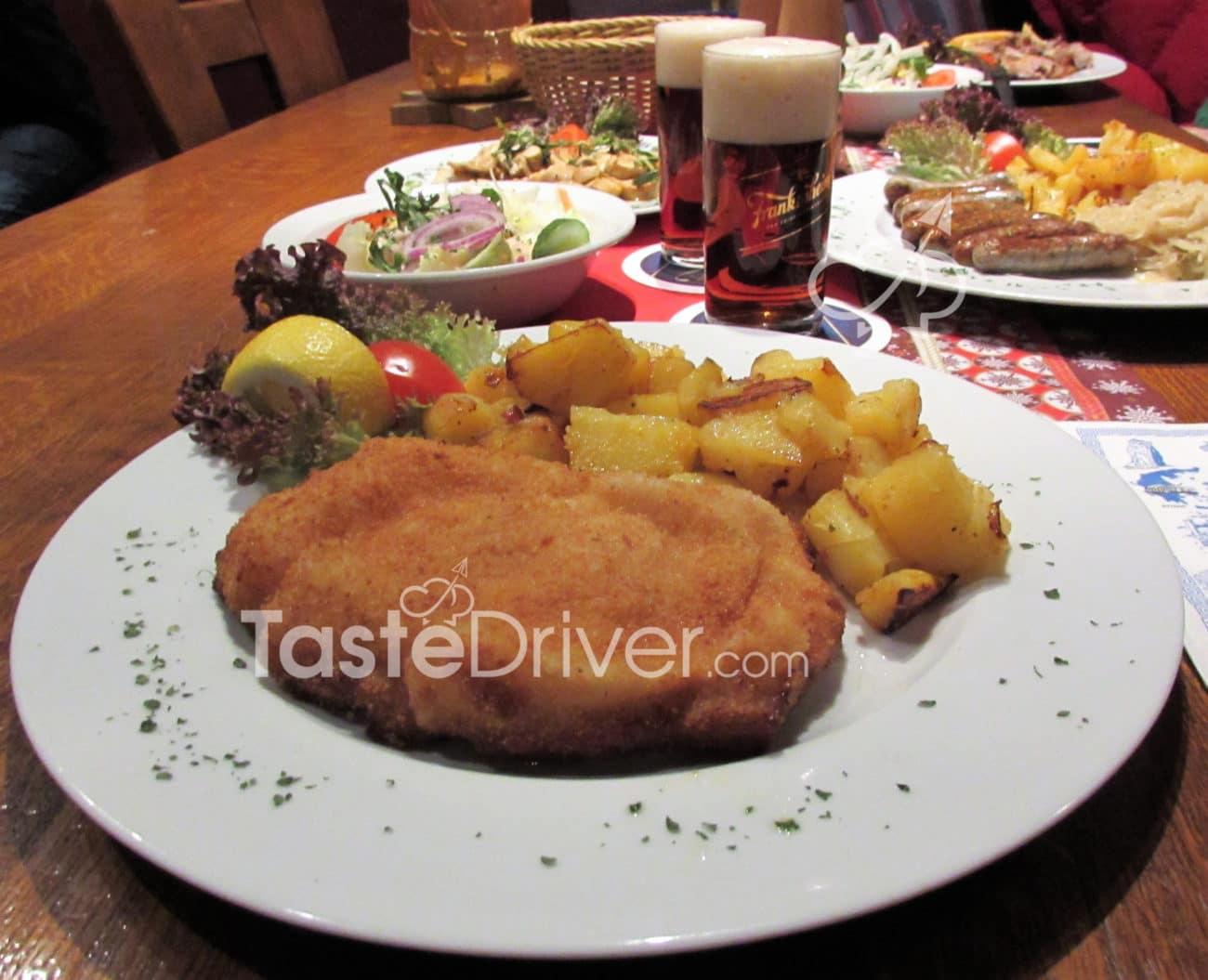 Αυθεντικό γερμανικό σνίτσελ (Schweineschnitzel)