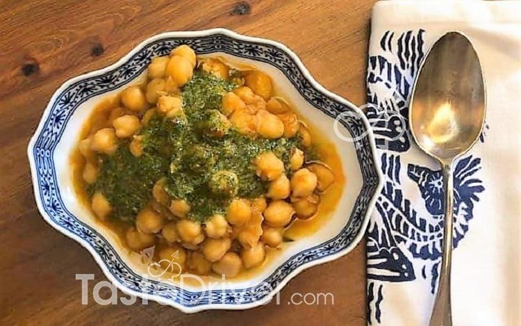 Ρεβίθια με ντομάτα, my style