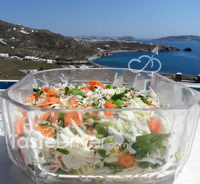 Πολίτικη αρωματική σαλάτα
