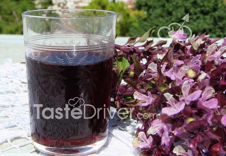 Sour cherry juice or Cherry juice