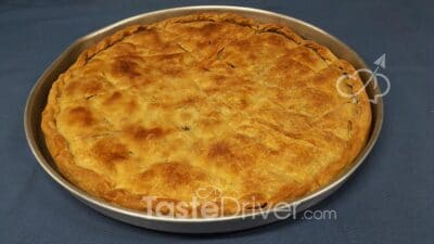 Cabbage Cheese Pie from Roumeli