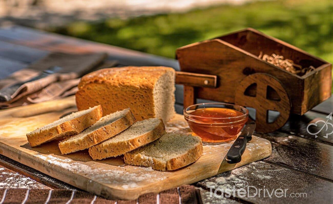 Ζυμωτό ψωμί της Μαρίνας